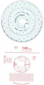 Diagrammscheiben 140KM/H 24H KOMBI